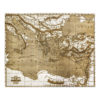 Journey of the Apostles Engraved Wood Map - Main view - Lumengrave